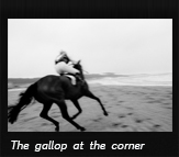 The gallop at the corner