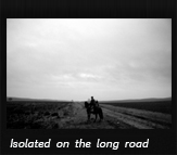 Isolated on the long road