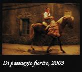 Di passaggio fiorito, 2003