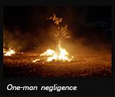 One-man negligence