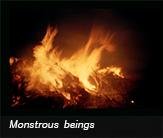 Monstrous beings