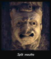 Split mouths