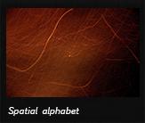 Spatial alphabet