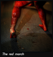 The red march