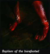 Baptism of the barefooted