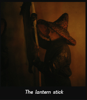 The lantern stick