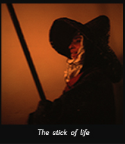 The stick of life